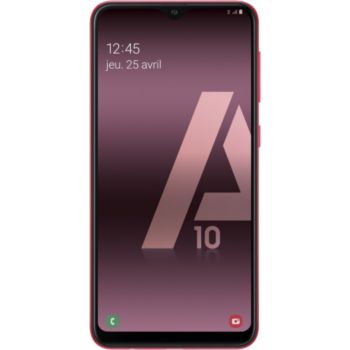 Samsung Galaxy A10 Rouge 				 			 			 			 				reconditionné