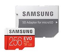 Carte Micro SD Samsung  Micro SD 256Go EVO PLUS  + adapt