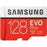 Carte Micro SD Samsung  Micro SD 128Go EVO PLUS  + adapt