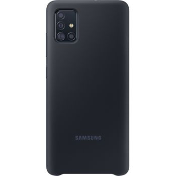Samsung A51 Silicone noir