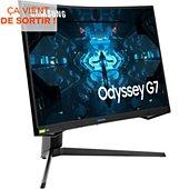 Ecran PC Gamer Samsung Odyssey G7 C27G75TQSUXEN