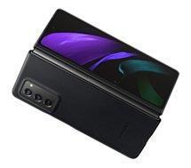 Coque Samsung  Fold 2 Cuir noir