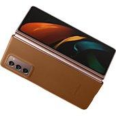 Coque Samsung Fold 2 Cuir brun