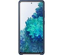 Coque Samsung  S20 FE Silicone bleu