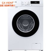 Lave linge compact Samsung WW70T303MBW/EF