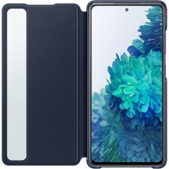 Samsung S20 FE Clear view cover bleu
