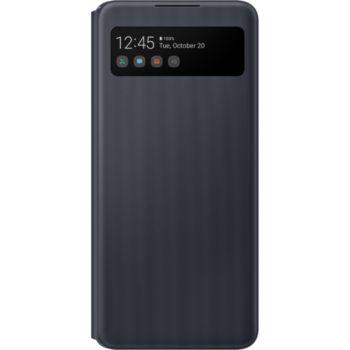 Samsung A42 5G View cover noir