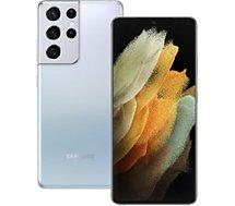 Smartphone Samsung  Galaxy S21 Ultra Silver 256 Go 5G