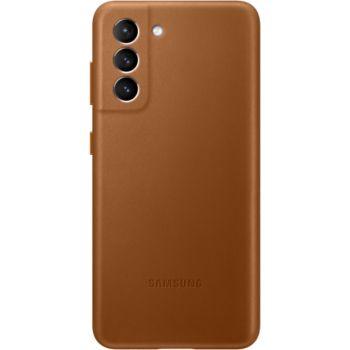 Samsung Samsung S21 Cuir marron