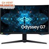 Ecran PC Gamer Samsung ODYSSEY G7 27''