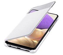 Etui Samsung  A32 5G Smart S View blanc