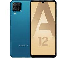Smartphone Samsung  Galaxy A12 Bleu