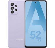 Smartphone Samsung  Galaxy A52 Lavande 5G