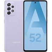 Smartphone Samsung Galaxy A52 Lavande 4G