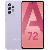 Smartphone Samsung Galaxy A72 Lavande 4G