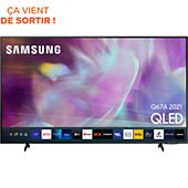 TV QLED Samsung QE50Q67A 2021