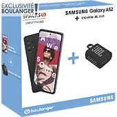 Smartphone Samsung Pack A52 Noir 4G + JBL Go3