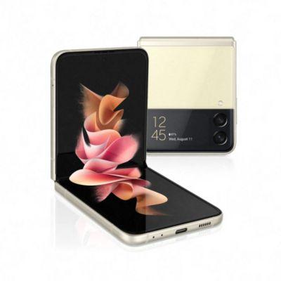 Location Smartphone Samsung Galaxy Z Flip3 Crème 128 Go 5G
