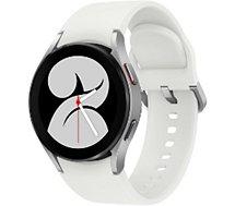 Montre connectée Samsung  Galaxy Watch4 4G Silver 40mm