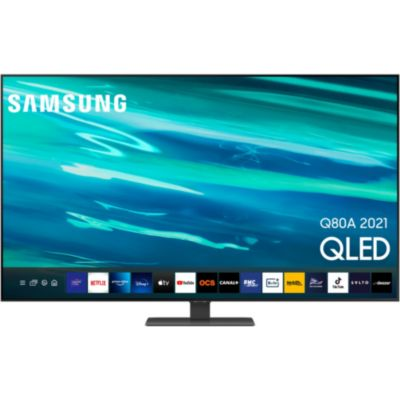 Location TV QLED Samsung QE85Q80A 2021