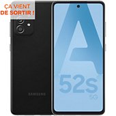Smartphone Samsung Galaxy A52s Noir 5G