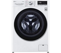 Lave linge séchant hublot LG  F964V71WRH  Steam+