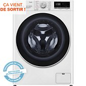 Lave linge séchant hublot LG F852SV50WRS