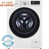 Lave linge séchant hublot LG F964V71WRHT