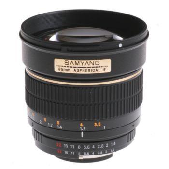 Samyang 85mm f/1.4 ASP AE Nikon