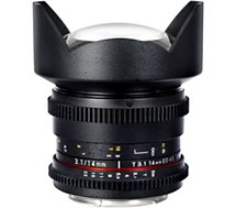 Objectif pour Reflex Samyang 14mm T3.1 ED AS IF UMC VDSLR II Canon