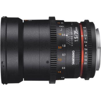 Samyang 35mm T1.5 AS UMC II VDSLR Canon EF