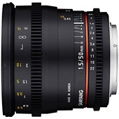 Objectif Samyang 50mm T1.5 VDSLR Canon