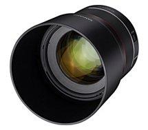 Objectif pour Hybride Plein Format Samyang  AF 85 F1.4 Canon RF