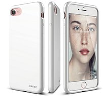 Coque Elago  COQUE CUSHION IPHONE 7 BLANC