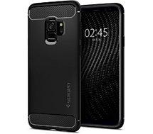 Coque Spigen  Samsung S9 Rugged Armor noir