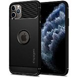 Coque Spigen  iPhone 11 Pro Max Rugged Armor noir mat