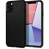 Coque Spigen  iPhone 11 Pro Max Liquid Air noir mat