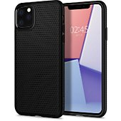 Coque Spigen iPhone 11 Pro Liquid Air noir mat