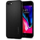 Coque Spigen  iPhone 12 mini Liquid Air noir mat