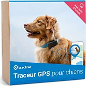 Tracker GPS Tractive Traceur GPS pour chiens