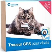 Tracker GPS Tractive Traceur GPS pour chats