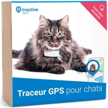 Tractive Traceur GPS pour chats