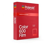 Papier photo instantané Polaroid Originals  Film Rouge pour 600 & i-type x8