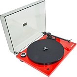 Platine vinyle Pro-Ject  Essential III Recordmaster Red OM10