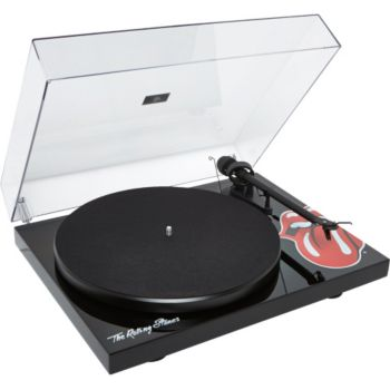 Pro-Ject DEBUT III THE ROLLING STONES PIANO BLACK