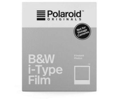Papier photo instantané Polaroid Noir et Blanc Film for i-Type (x8)