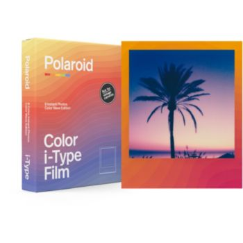 Polaroid Color film for i-Type Color Wave (x8)
