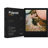 Papier photo instantané Polaroid  Color film for iType Black Frame (x8)
