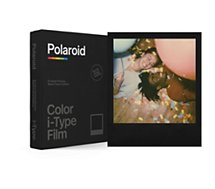 Papier photo instantané Polaroid  Color film for iType Black Frame (x8)