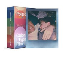 Papier photo instantané Polaroid  Color film for iType Metallic nights